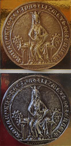 Habsburgerli - Königinnen-Siegel gefüllt mit Edelschokolade.
