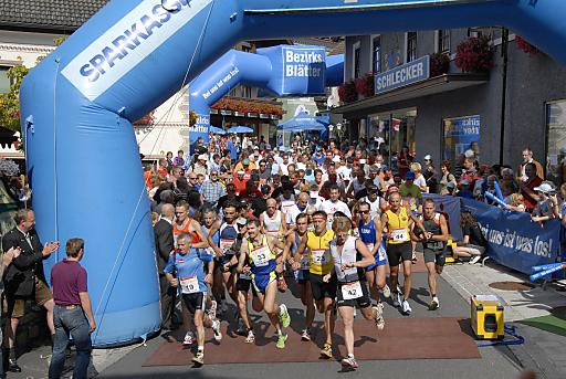 7. SAMSONMAN-Halbmarathon in St. Michael im Lungau/Salzburg am Samstag, den 28. August 2010.