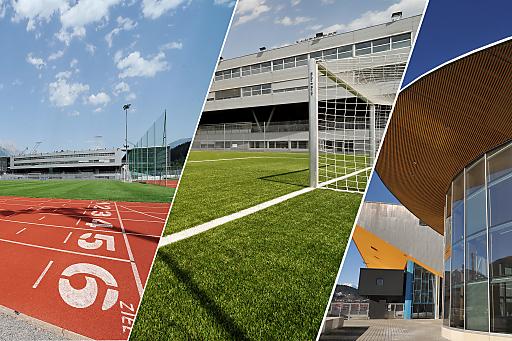 Sportstätten Olympiaworld