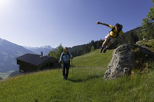 Der Juli bringt dem Zillertal ein Gästeplus von 8,2 Prozent.
