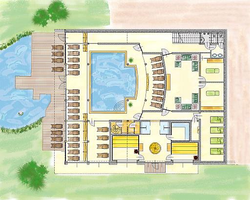 Der Greenspa im Hotel Edelweiss Wagrain benötigt etwa 75 Prozent weniger Energie als vergleichbare Anlagen und sorgt so für eine CO2 Einsparung im Ausmaß von etwa 75 Prozent. Selbst die Wärme des Duschwassers wird im Greenspa rückgewonnen und genutzt.