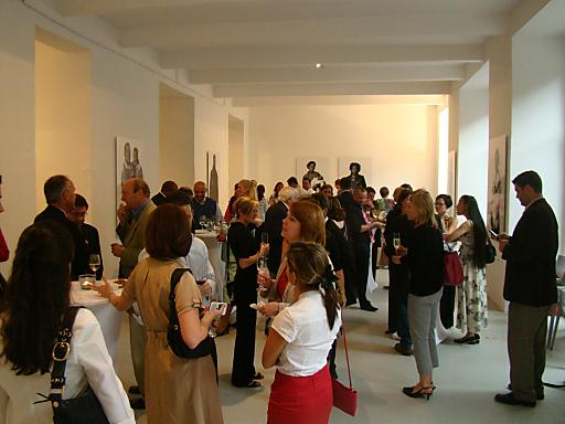 Ausstellungseröffnung im Altstadt Vienna