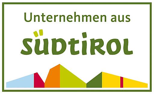 """Das Standortzeichen """"Unternehmen aus Südtirol"""" wurde für Unternehmen aus dem produzierenden Gewerbe und dem Dienstleistungssektor mit Produktions- und Unternehmensstandort Südtirol geschaffen und darf nur in der Unternehmenskommunikation eingesetzt werden."""