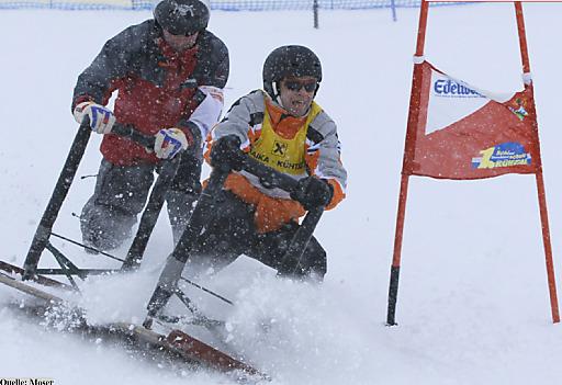 Bei der Biertisch-Bob-WM im Kühtai von 10.-12. Dezember 2010 werden auch diesmal wieder zahlreiche Stars auf umgedrehten Biertischen die Piste bezwingen.
