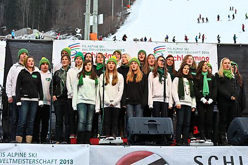 Die Steiermark läutet schon die WM 2013 ein.