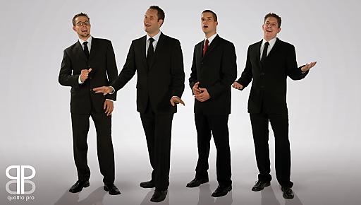 Quattro Pro (v.l.n.r.): Armin Bacher, Marko Zeiler, Martin Haider, Josef Bergthaler.