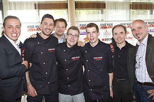 Vorausscheidung Kochwettbewerb Junge Wilde im Restaurant Schmederer in Salzburg
