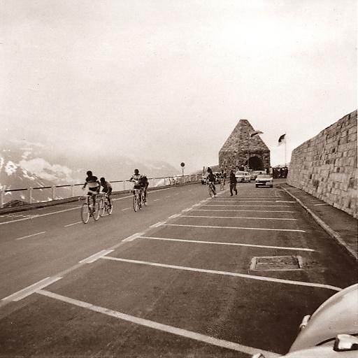 Giro d'Italia - Etappe vom 7. Juni 1971 am Fuscher Törl.