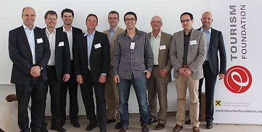 Referenten und Veranstalter des eTourism Foundation Dialog 2011.