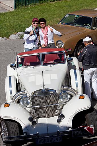 Aus Freude am Genuss: Dem Ruf der tirol classic 2011 folgten rund 70 TeilnehmerInnen. Das Hotel Wellnessresidenz Alpenrose am Achensee veranstaltete bereits seine dritte Genussrallye.