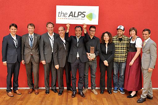 Die Partnerregionen von theALPS zeigen Flagge. Die Resonanz der Partner, der Ein- und Verkäufer stimmt positiv. Die Tenor der Partner: 2012 soll die nächste Veranstaltung sein.