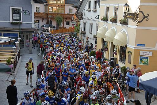 Das Alpenrennen.
