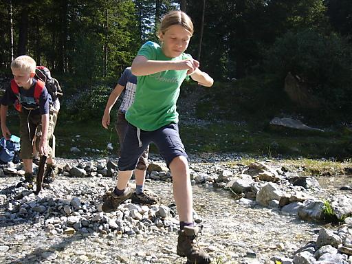 Raus in die Natur mit der Alpenvereinsjugend