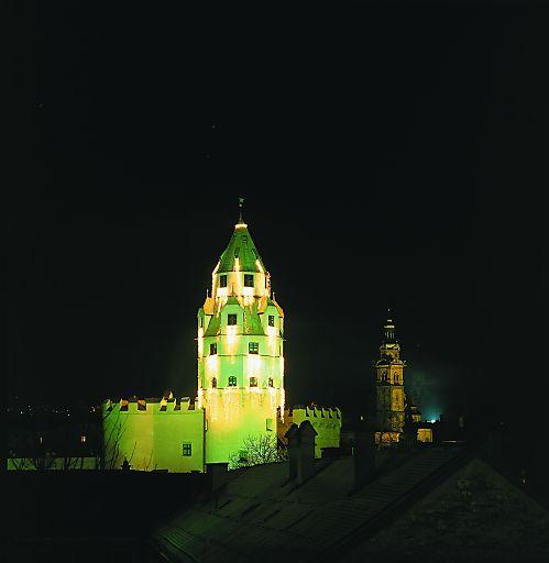 Die Burg Hasegg mit dem Münzturm in Hall ist ein bewährter Rahmen für stimmungsvolle Feste und Feiern