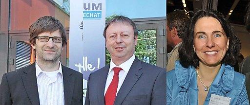 Die neuen ACB-Mitglieder: v.l. Roland Regnemer & Franz Kucharowits, Multiversum Schwechat und Renee-Karolin Kohl, Business Class Steyr