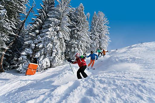 Pistenspaß in der Skiregion Dachstein West