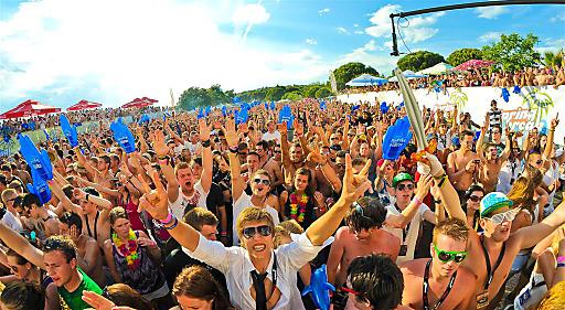 SBE Partypeople: 15.000 partyhungrige Gäste werden bei Spring Break Europe erwartet.