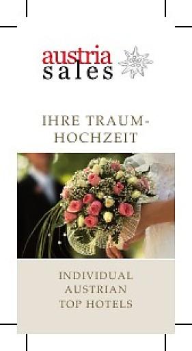 Starke Nachfrage an Hochzeiten in austria sales Mitgliederhotels