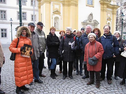 Außenführung Welttag der Fremdenführer.