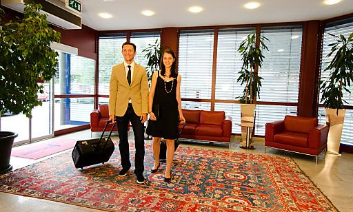 Das Vienna Sporthotel überzeugt durch seine dezente Eleganz