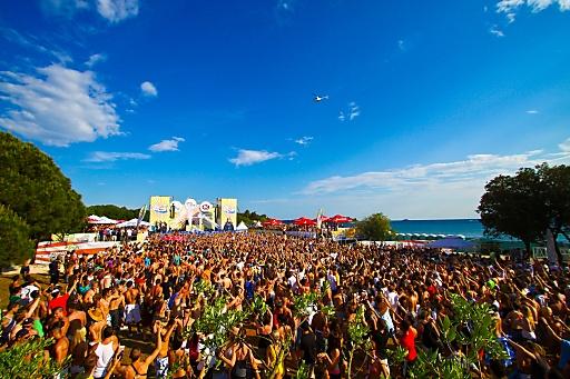 Spring Break Europe Party: Bei Spring Break Europe in Kroatien werden mehr als 15.000 Gäste aus ganz Europa erwartet.