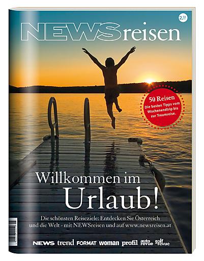 Cover des aktuellen NEWSreisen-Magazins.