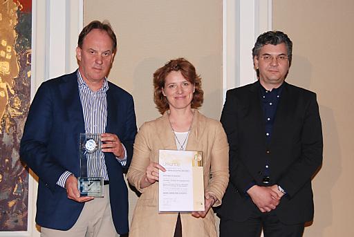 Bild von links nach rechts: Hanns Bauer, Christina Neumeister-Böck, Tom Sebesta.