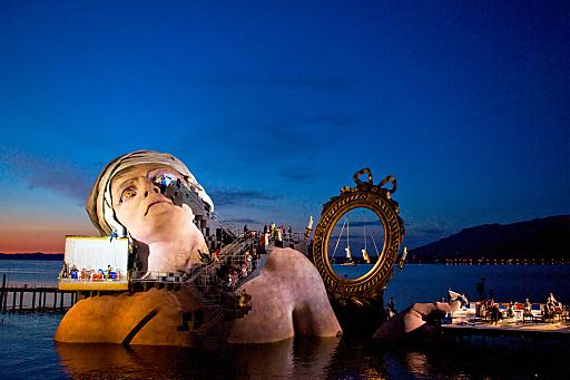 Zauberhaft: Die Seeaufführungen der Bregenzer Festspiele. (C)