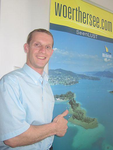 Roland Sint, neuer Geschäftsführer der Wörthersee Tourismus GmbH