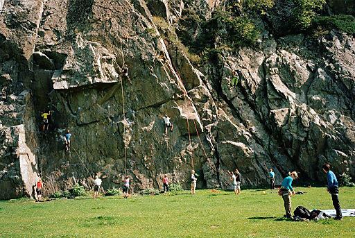 Climbers Paradise.