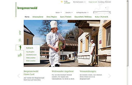 Schnörkellos schön: Die neue Bregenzerwald-Website