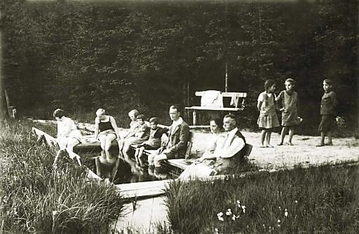 Österreichs modernes Kurhotel in Bad Leonfelden feiert 50 Jahre: Moorbad historisch - 1930er Jahre.