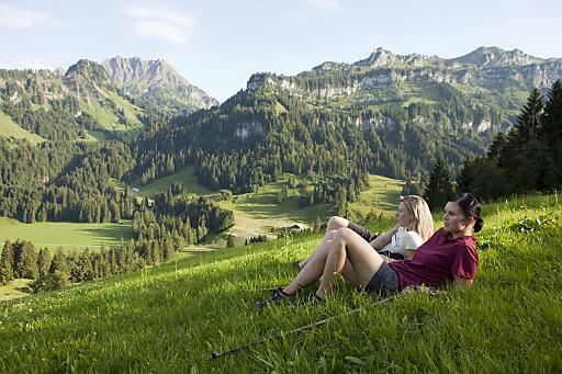 Immer mehr Gäste kommen über das Internet in den Bregenzerwald.