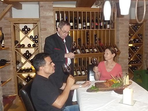 Valentin Zisfkovits mit Gästen