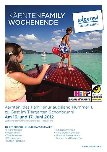 Ein tierisch gutes Familienfest - Kärnten kommt nach Schönbrunn!
