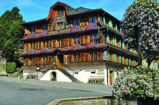kunst.hotel nach waelder.art Hirschen, einer der Kreativschauplätze im Bregenzerwald.