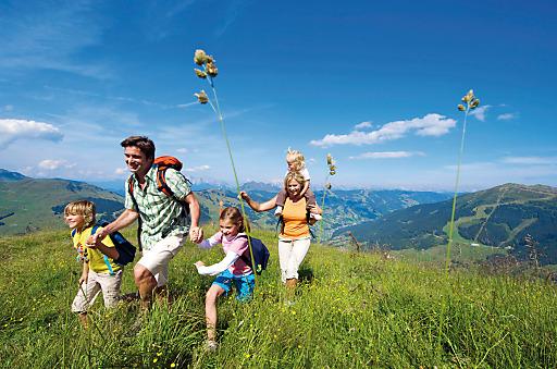 Eine Wanderung im Tal der Spiele in Saalbach Hinterglemm: Vergnügen für Groß und Klein.