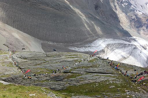Der Großglockner Berglauf zählt zu den größten alpinen Laufveranstaltungen in Europa.