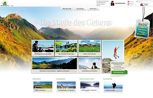 Österreichs Wanderdörfer punkten auf ihrem Online-Portal mit umfassenden Detailinformationen rund ums Wandern
