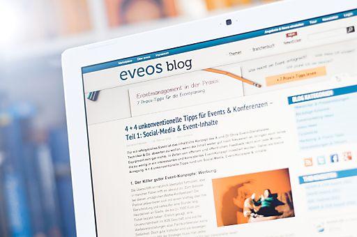 Der Fachblog für Eventmarketing eveosblog.de berichtet aus und für die Eventbranche, begleitet branchenrelevante Events als Online- und Social-Media Partner und gibt praktische Tipps rund um die Planung und Umsetzung von Marketing-Events.