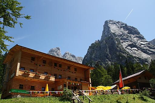Hans Berger Haus (936 m, Tirol)