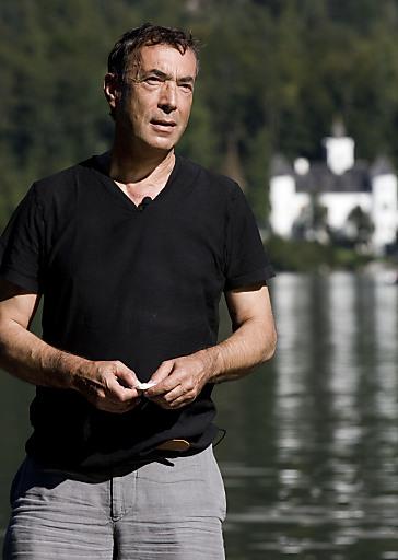 Hubert von Goisern - Weltmusiker und gebürtiger Goiserer, besuchte den Welterbekongress 2011.