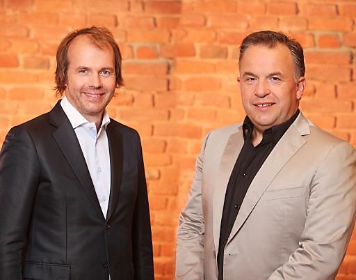 v.l.n.r.: Die beiden Geschäftsführer Mag. Gerhard Sperrer und Ing. Andreas Schabel
