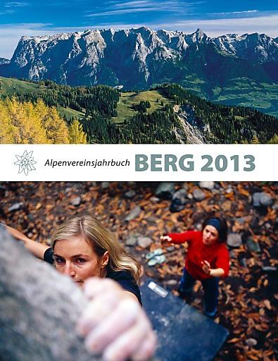 Cover Alpenvereinsjahrbuch BERG 2013