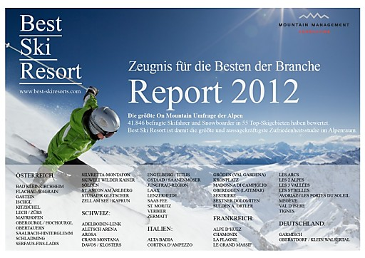 """Best Ski Resort"" Award 2012 verliehen"