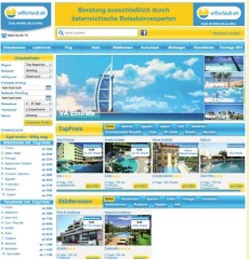 Mit willurlaub.at startet joe24.at ein neues Online-Reiseportal