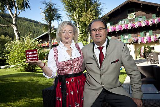 Die GenussWirte des Jahres 2013: Marlies und Micheal Gehring aus Salzburg.