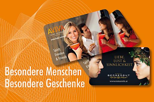 Brandneu & begehrenswert: Die AVIVA-BERGERGUT-CARD ist da!