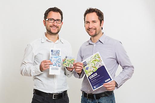 Für Peter Praher (li.) und Günther Praher, Geschäftsführer der Firma INCERT, liefert die neue Gutscheinwelt auf www.projekt-spielberg.at die perfekte Geschenkidee für Weihnachten 2012.
