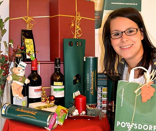 Genussvolle Geschenke aus dem Weinmarkt Poysdorf